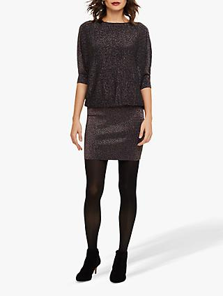 Phase Eight Knit Batwing Dress, Multicolour