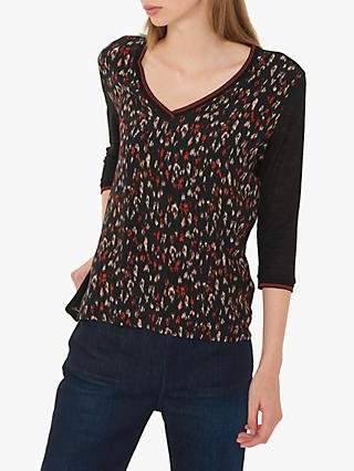Gerard Darel Noah T-Shirt, Black/Multi