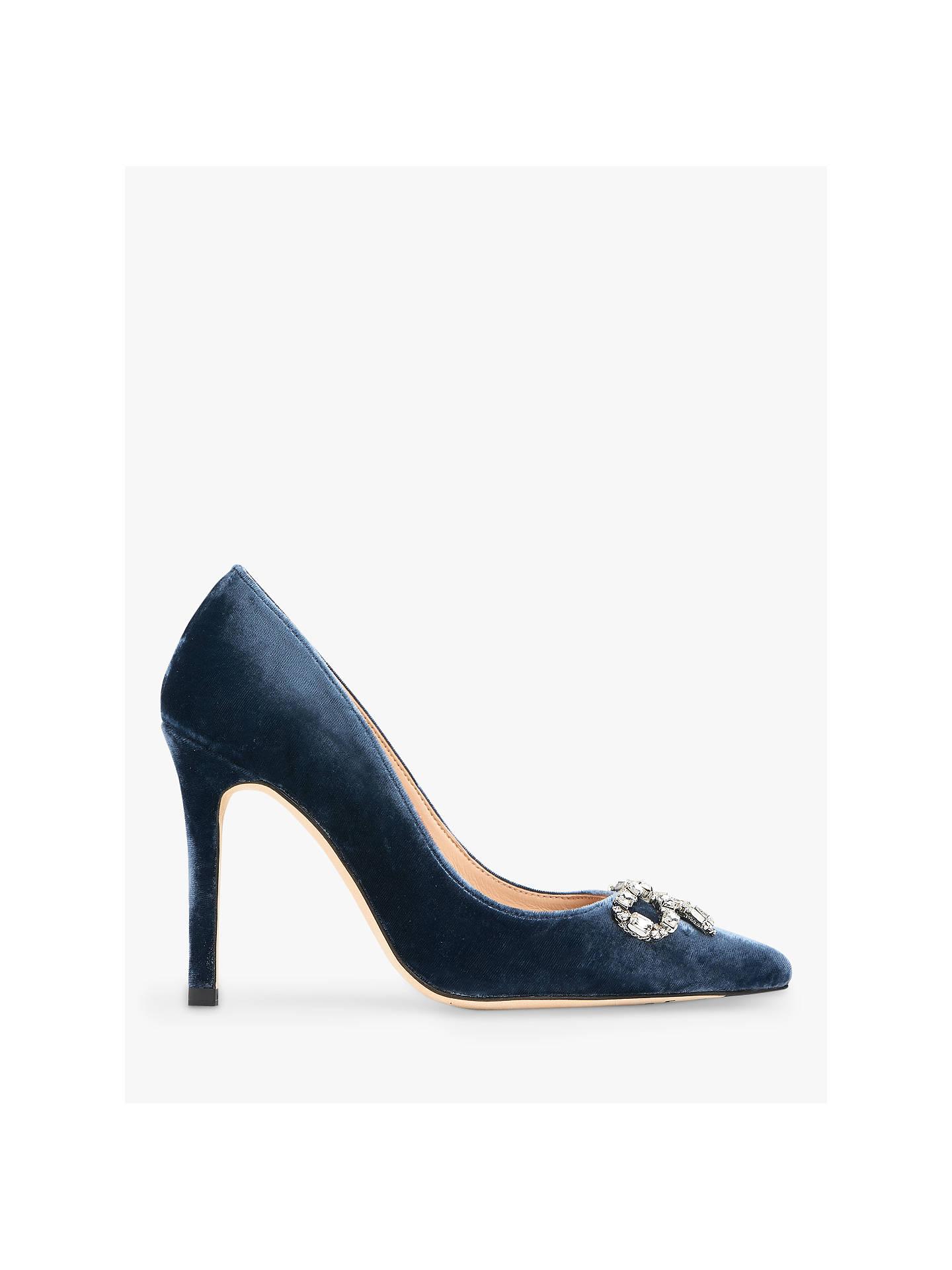 7a865d6b4a2 Buy L.K.Bennett Fern Embellished Bow Court Shoes, Powder Blue, 3 Online at  johnlewis ...