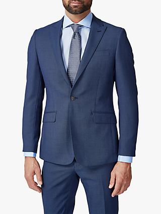 Richard James Mayfair Birdseye Slim Suit Jacket, Blue