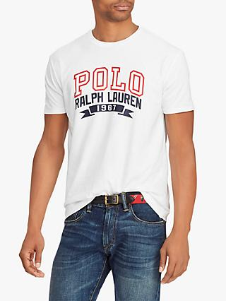 Polo Ralph Lauren Short Sleeve Graphic T-Shirt