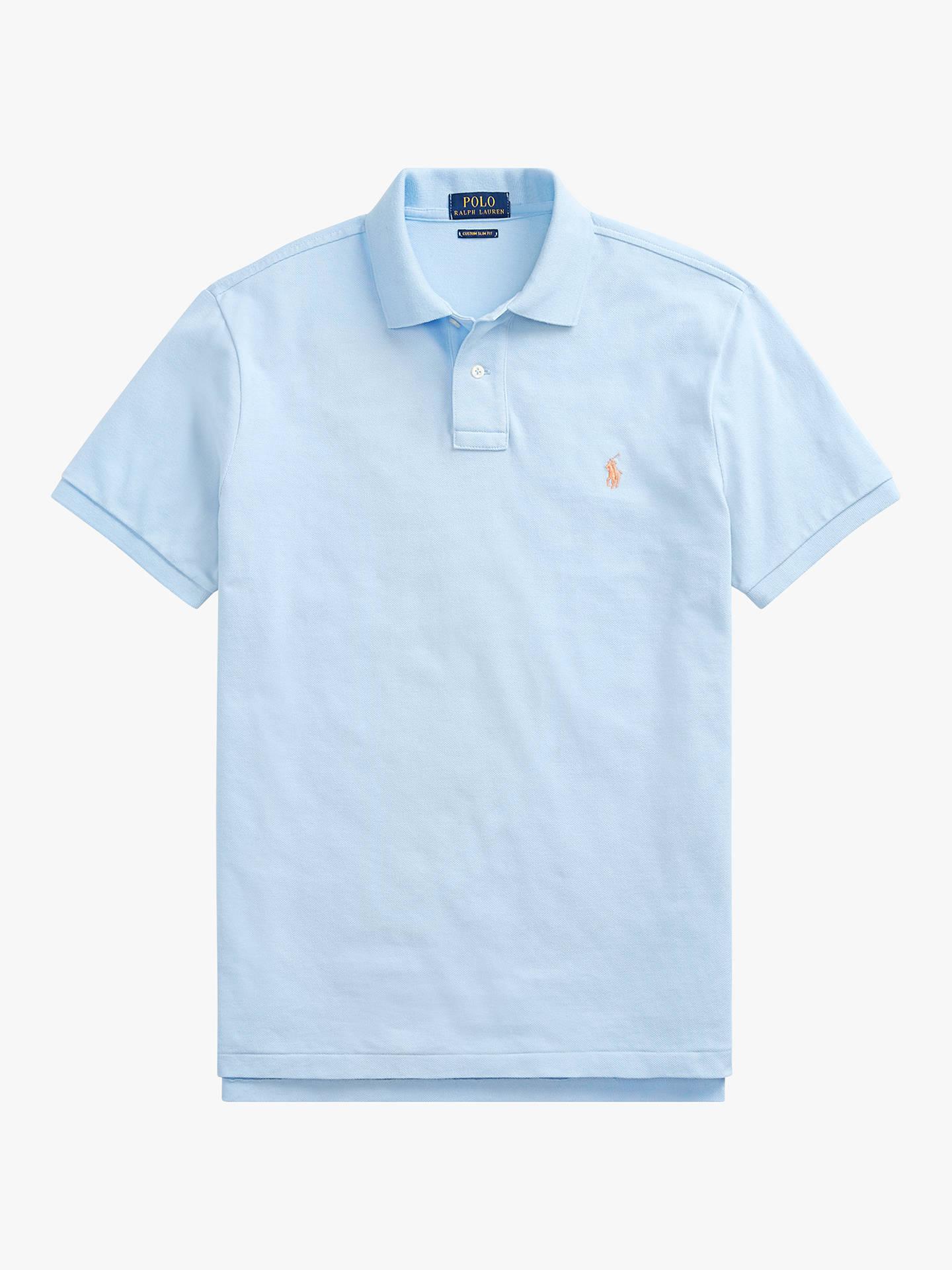 57238c7f4a5 Polo Ralph Lauren Slim Fit Mesh Polo Shirt at John Lewis   Partners