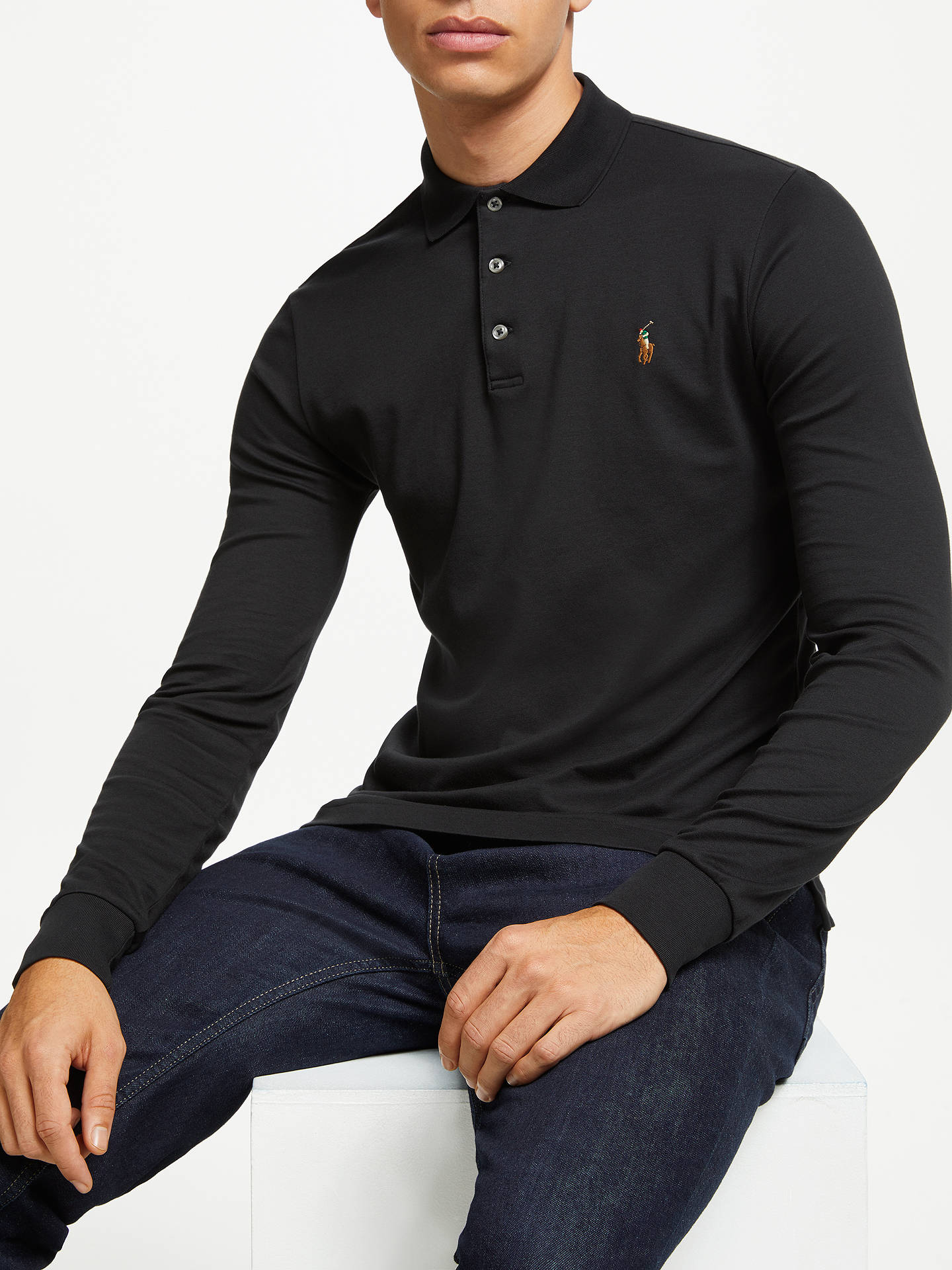 Polo Ralph Lauren Long Sleeve Polo Shirt At John Lewis Partners