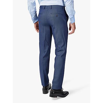 Richard James Mayfair Birdseye Slim Fit Suit Trousers, Blue