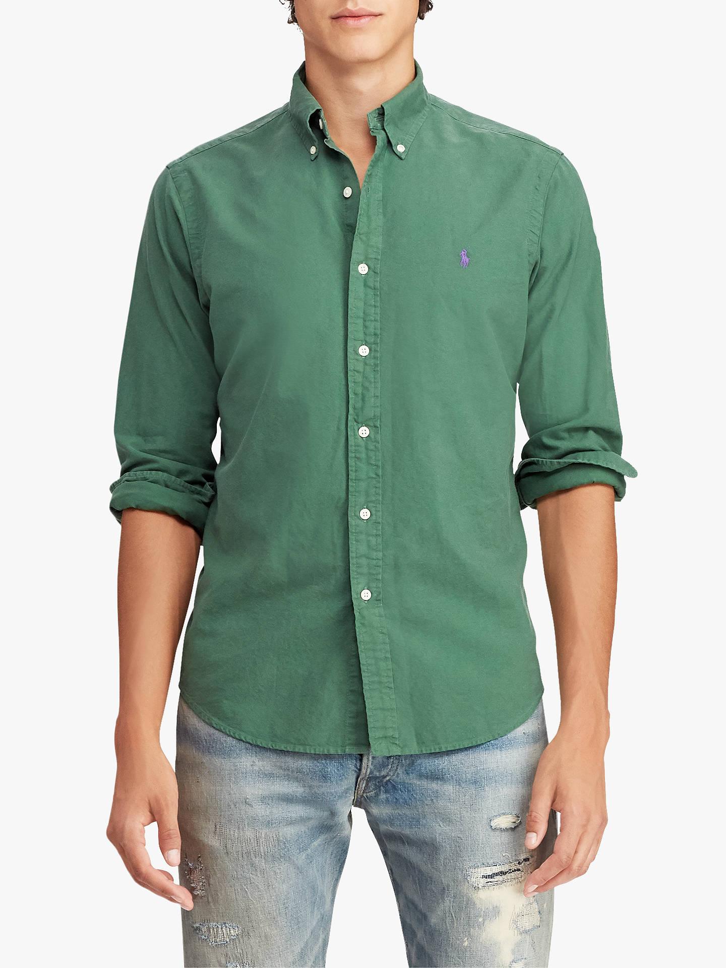 2512a8298183 Polo Ralph Lauren Slim Fit Oxford Shirt at John Lewis   Partners