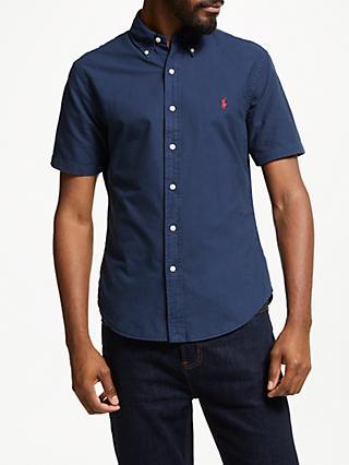 1b326b1a70b9a Polo Ralph Lauren Short Sleeve Slim Fit Shirt