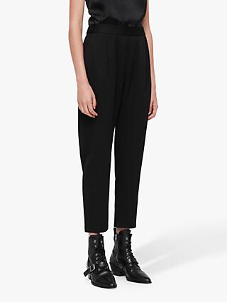 AllSaints Aleida Trousers, Black