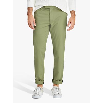 Polo Ralph Lauren Flat Pant Slim Chino, Spanish Green