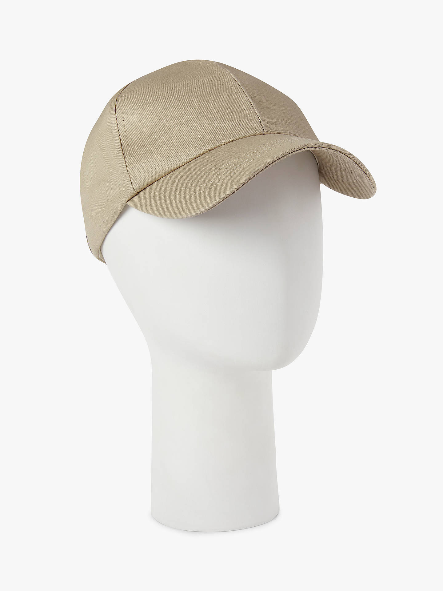 a48d089919eee Buy John Lewis   Partners Cotton Baseball Cap