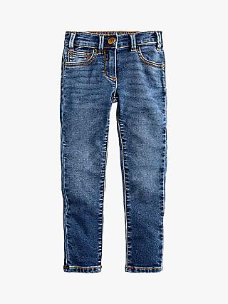 crewcuts by J.Crew Girls' Cosy Jeans, Blue