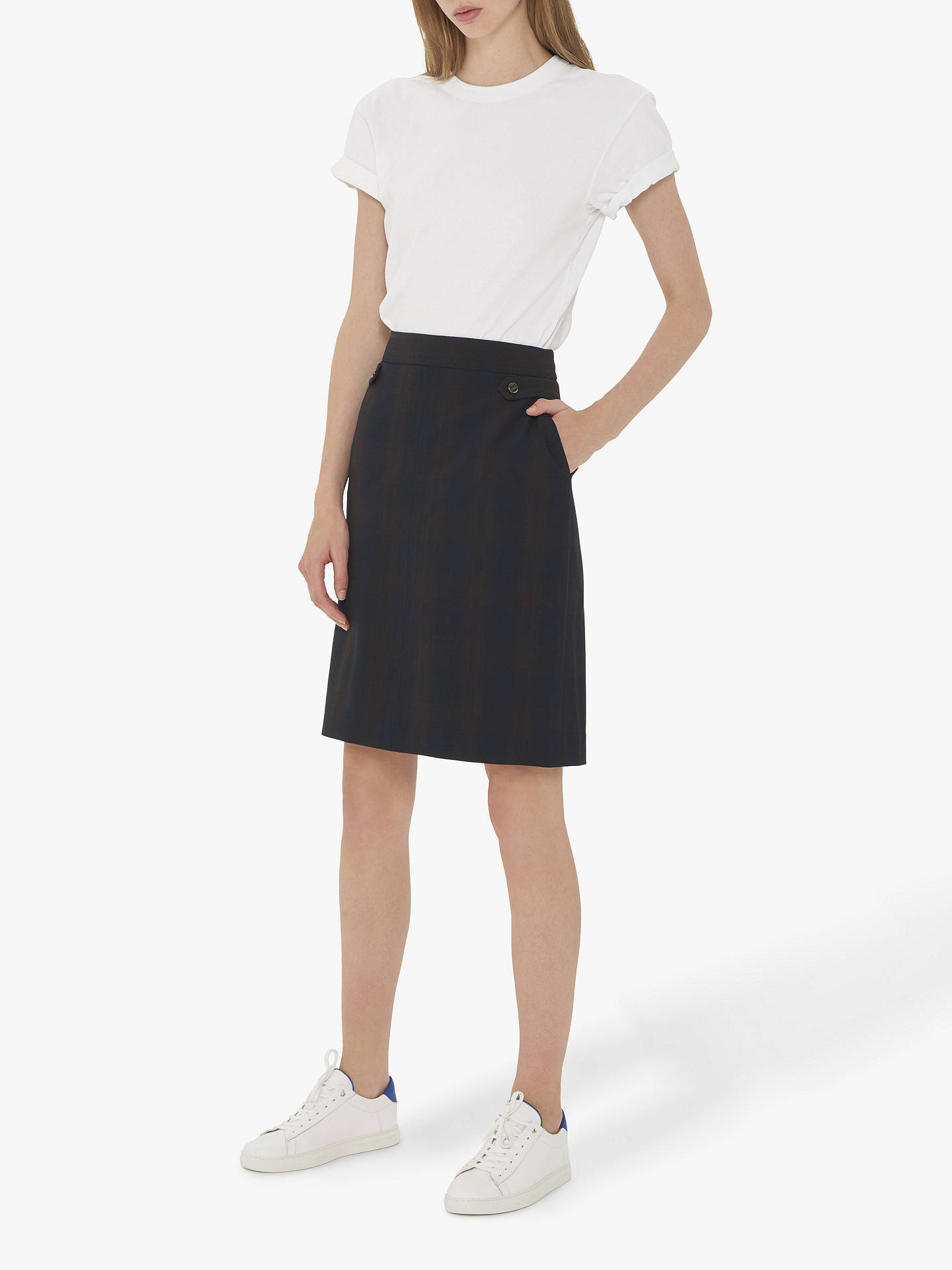BuyGerard Darel Jules Skirt, Blue, 6 Online at johnlewis.com