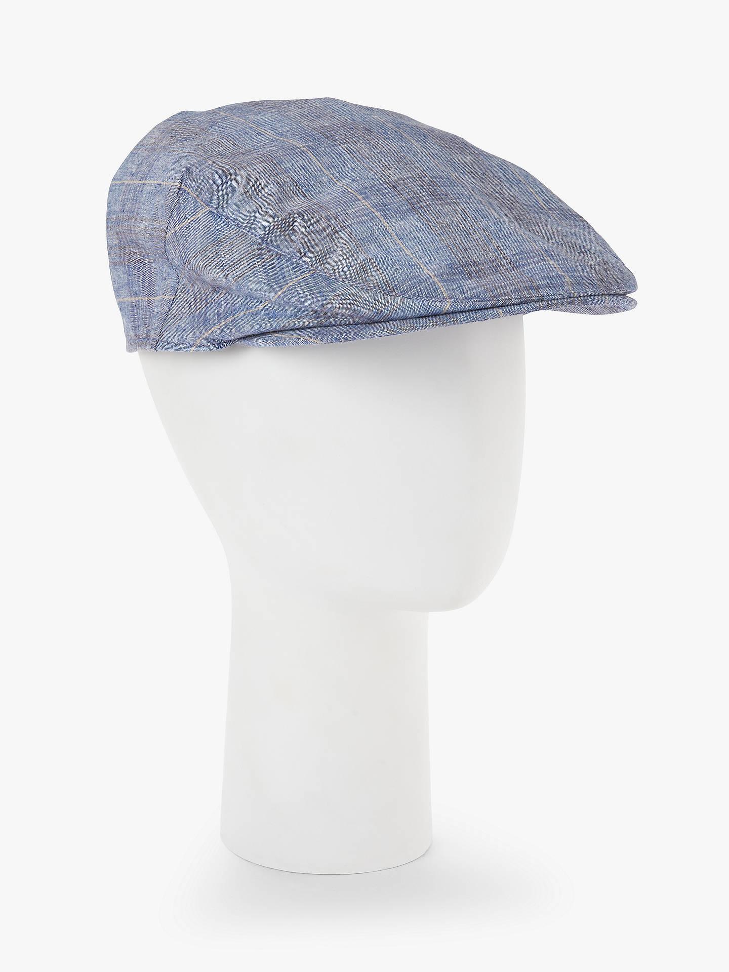 a2155ae10ab BuyJohn Lewis   Partners Cotton Linen Flat Cap