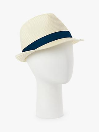 John Lewis & Partners Classic Trilby Hat, Multi