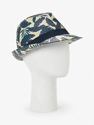 220fc32d94f John Lewis   Partners Printed Trilby Hat