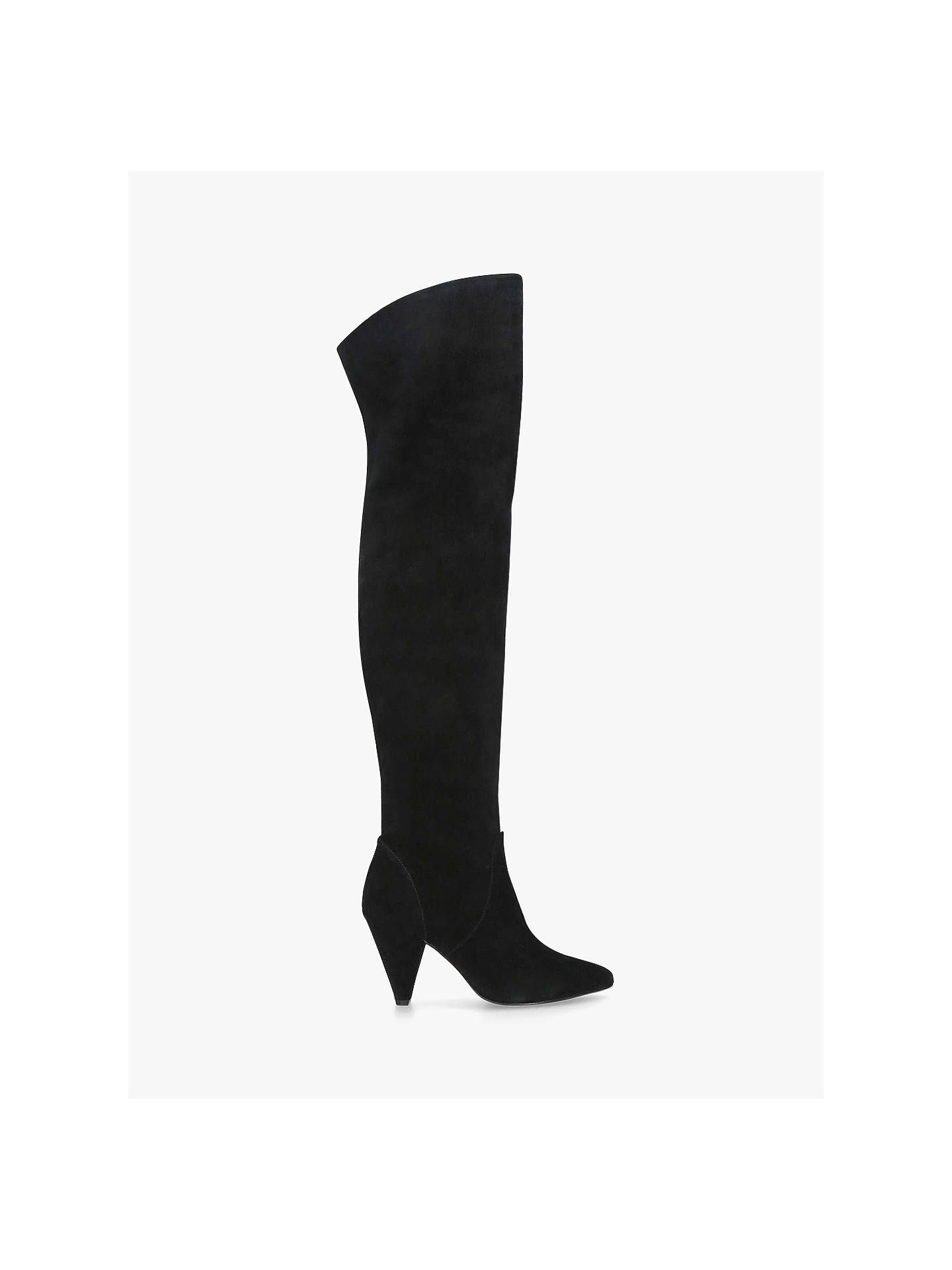 df76e5b58fc Kurt Geiger London Violet Over the Knee Boots at John Lewis & Partners
