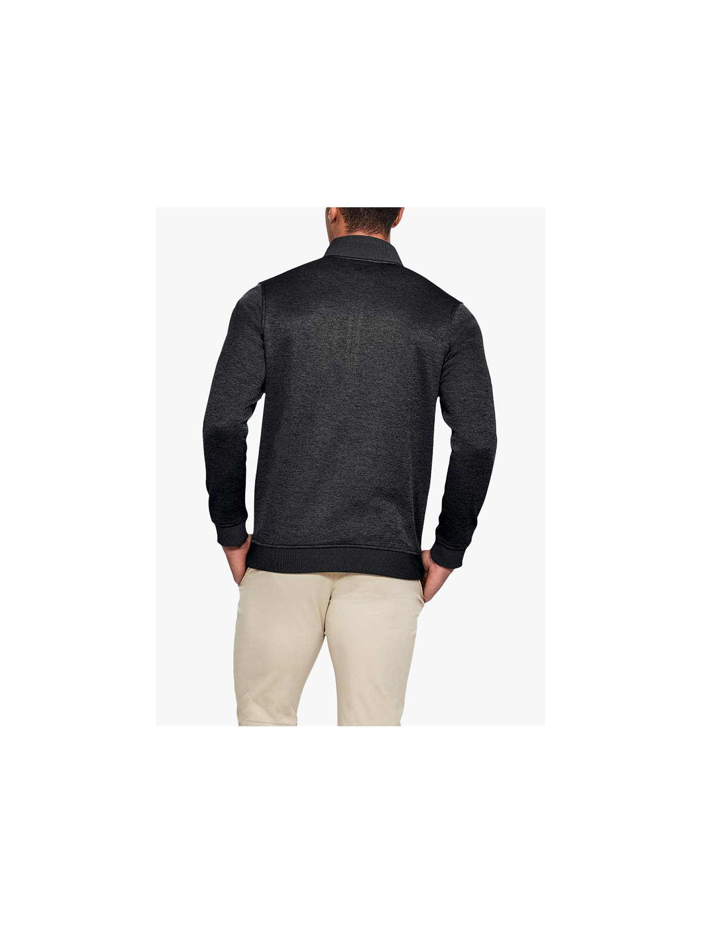 c47b18d613fc Under Armour Storm Sweater Fleece Quarter Zip Top at John Lewis ...