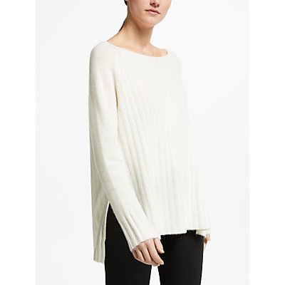 Image of 360 Sweater Pure Cashmere Serenity Jumper, Off White