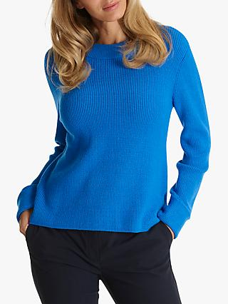 Betty Barclay Ribbed Knit Jumper, Palace Blue