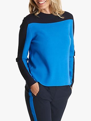 Betty Barclay Two Tone Jumper, Blue/Black