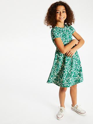 55bdd748db John Lewis   Partners Girls  Floral Print Dress