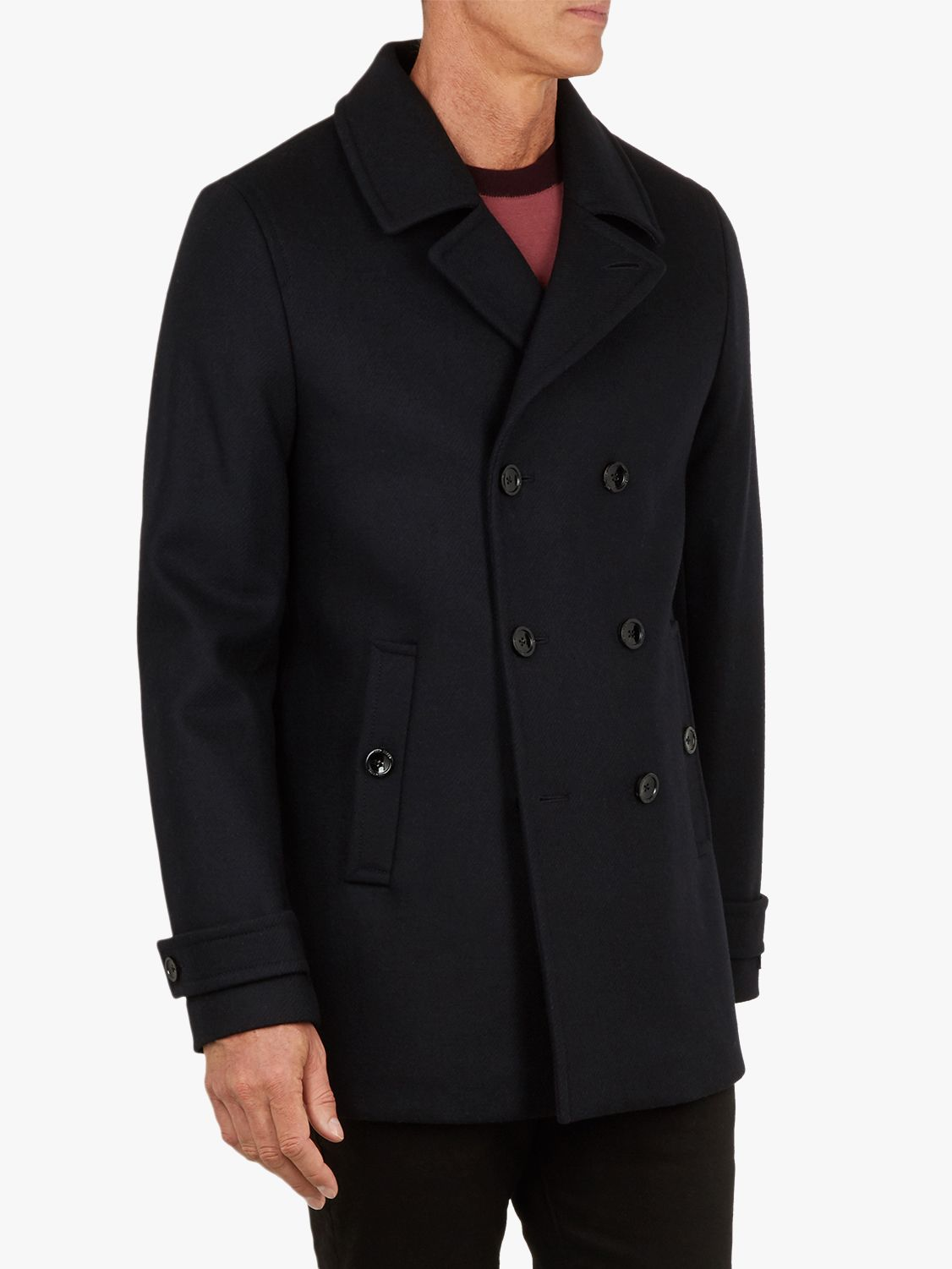 cfb87758c5d9e Ted Baker T for Tall Grilld Peacoat