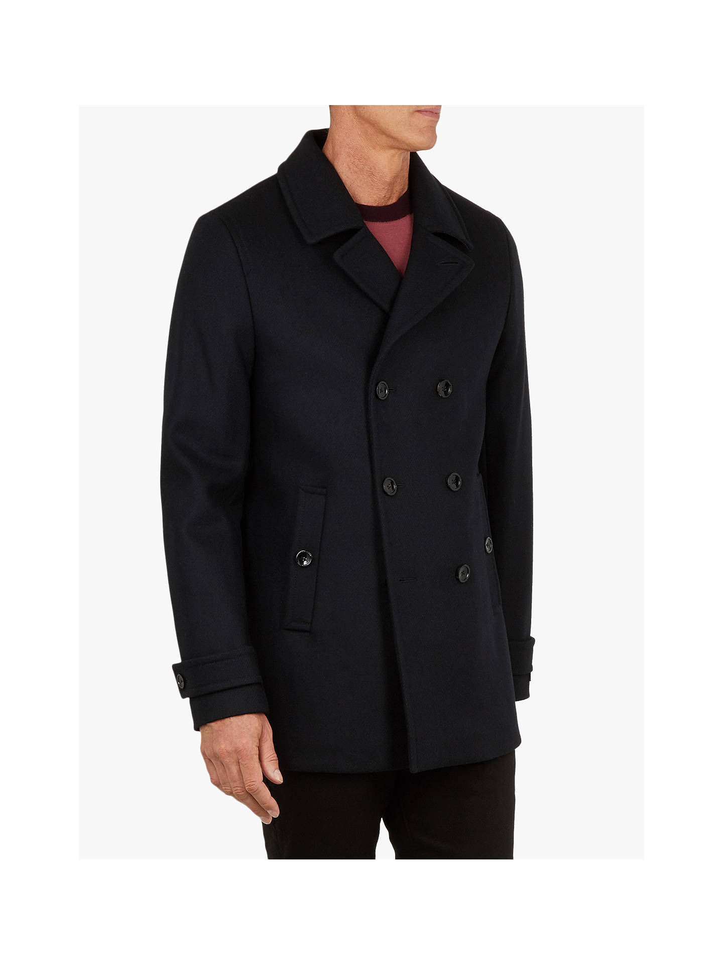 69081f81f6b2a Buy Ted Baker T for Tall Grilld Peacoat