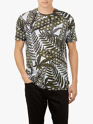 Ted Baker Rice Leaf Printed T-Shirt