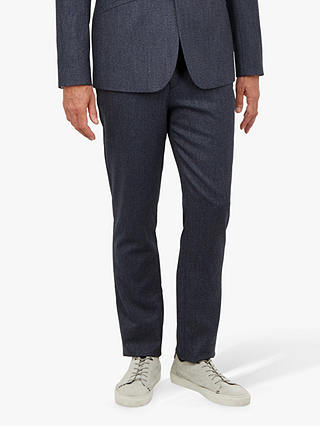 Buy Ted Baker T for Tall Buftrtt Twill Trousers, Mid Blue, 38L Online at johnlewis.com