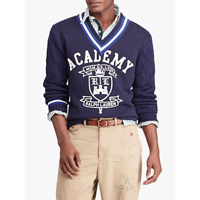 Polo Ralph Lauren Hybrid Fleece Jumper, Navy
