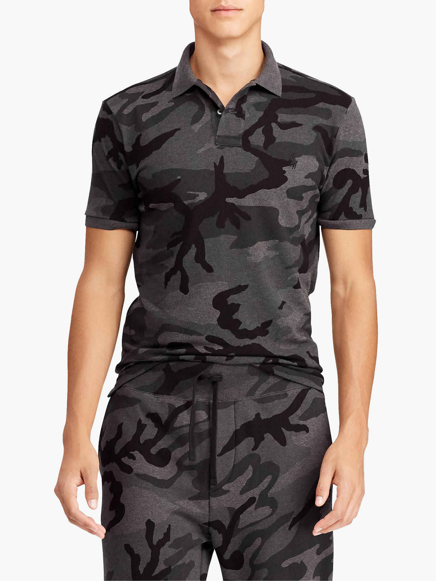 e500acfdb6b47 Buy Polo Ralph Lauren Custom Fit Camo Mesh Polo Shirt