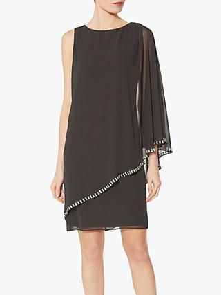 Gina Bacconi Ursa Beading Detail Dress, Black