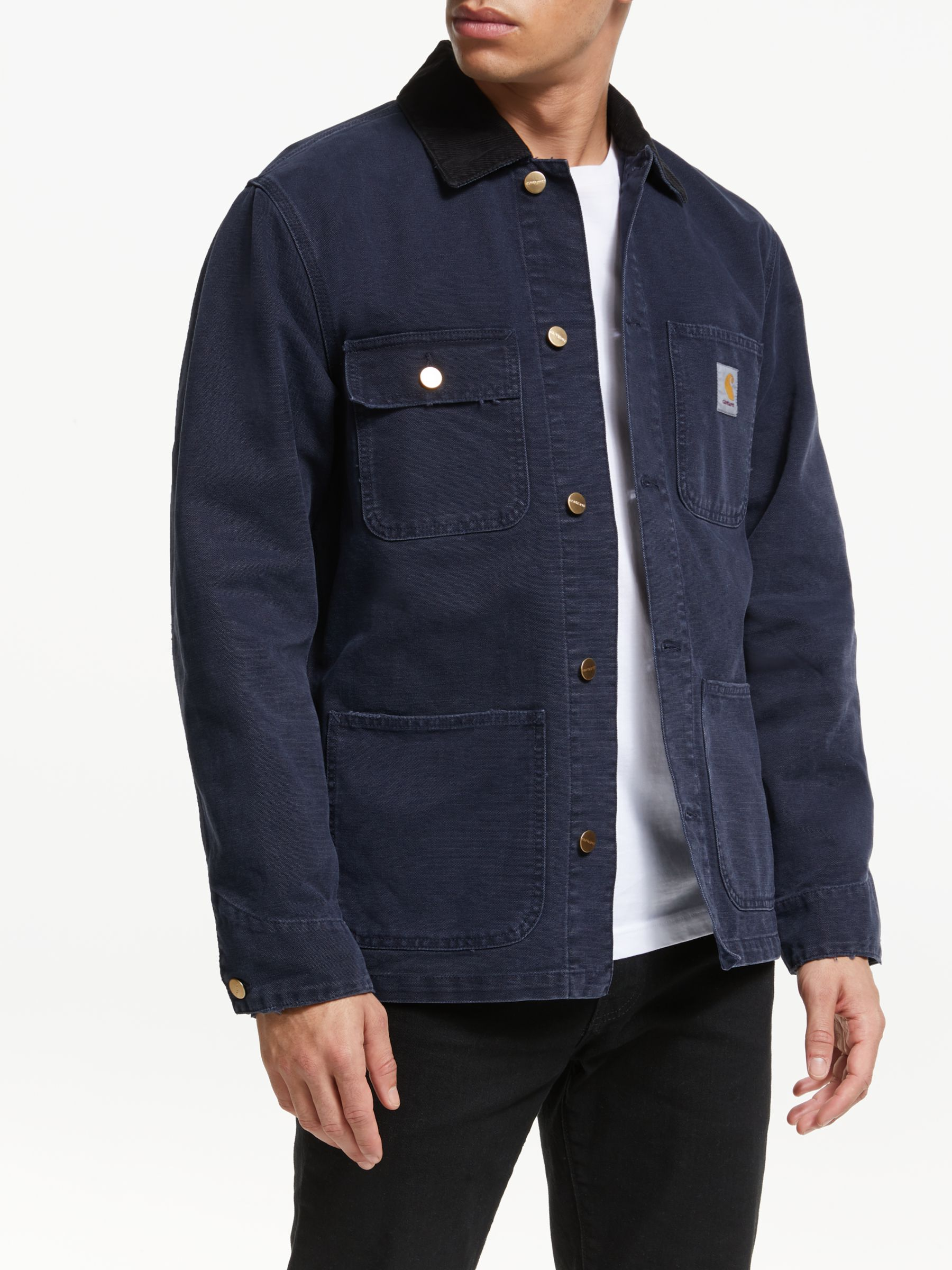 Carhartt WIP Carhartt WIP Michigan Coat, Dark Navy Aged