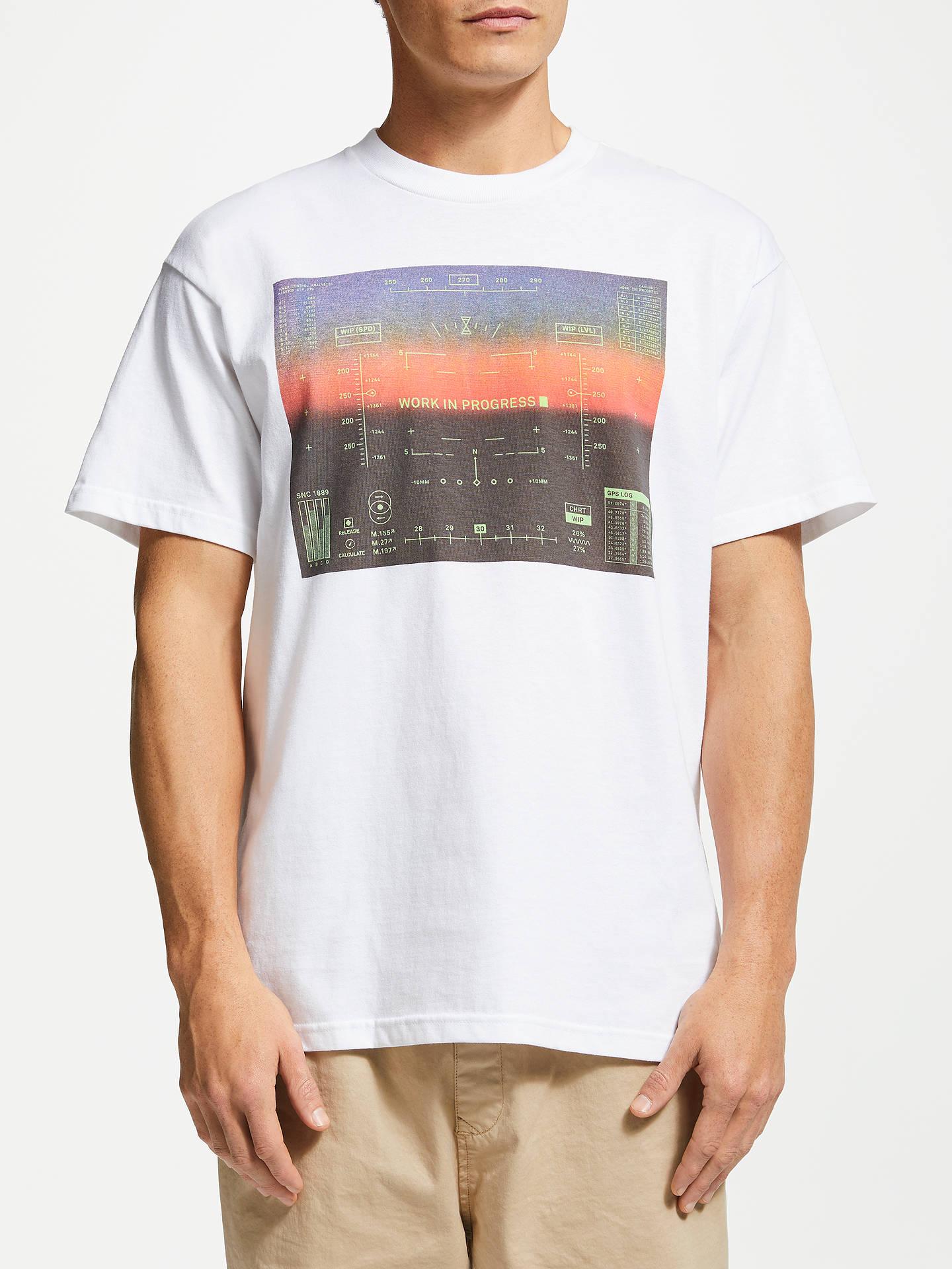 afa1c351 Buy Carhartt WIP Hud Short Sleeve Graphic T-Shirt, White, M Online at ...