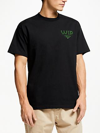 Carhartt WIP Pilot Short Sleeve Chest Logo T-Shirt, Black