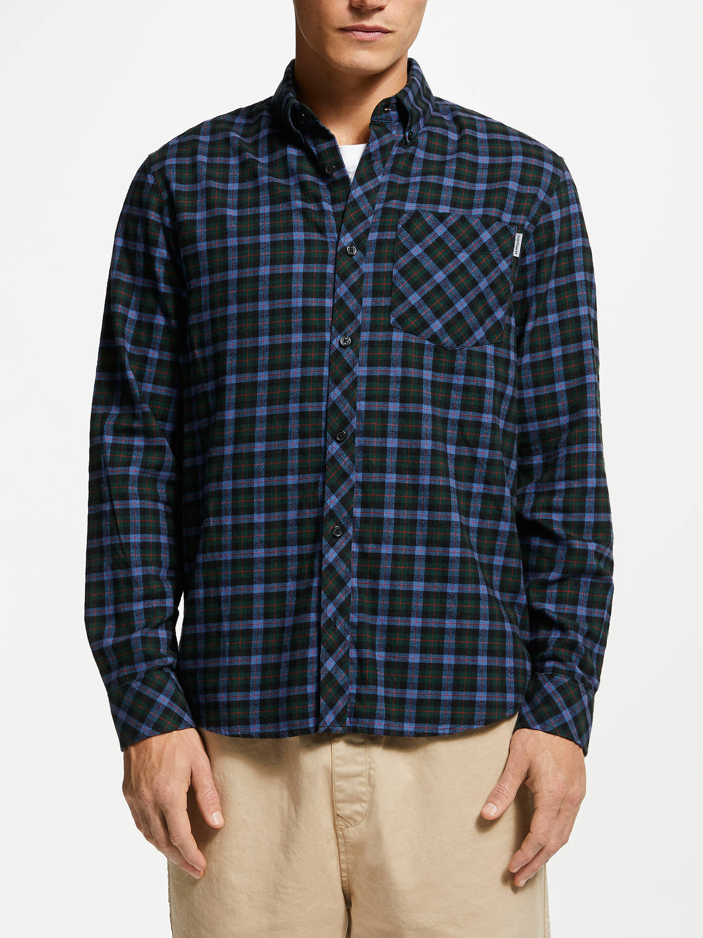 77a2304bc18bc3 Buy Carhartt WIP Lanark Long Sleeve Check Shirt