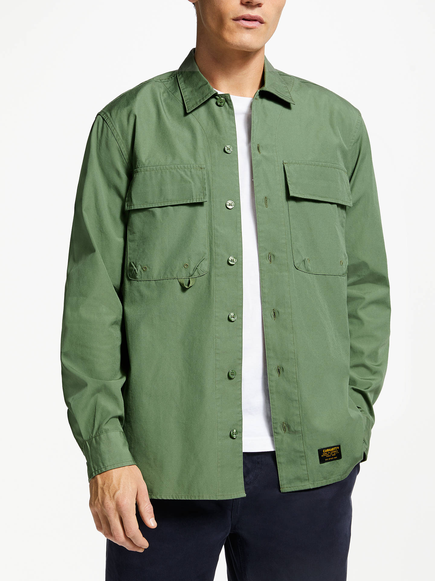 4e672f61f4fb3b Carhartt WIP Laxford Long Sleeve Shirt at John Lewis   Partners