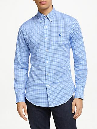 9c094aceaeee Polo Ralph Lauren Slim Fit Gingham Sports Shirt
