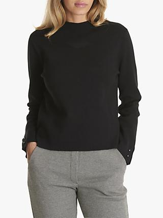 Betty & Co. Crew Neck Sweater, Black