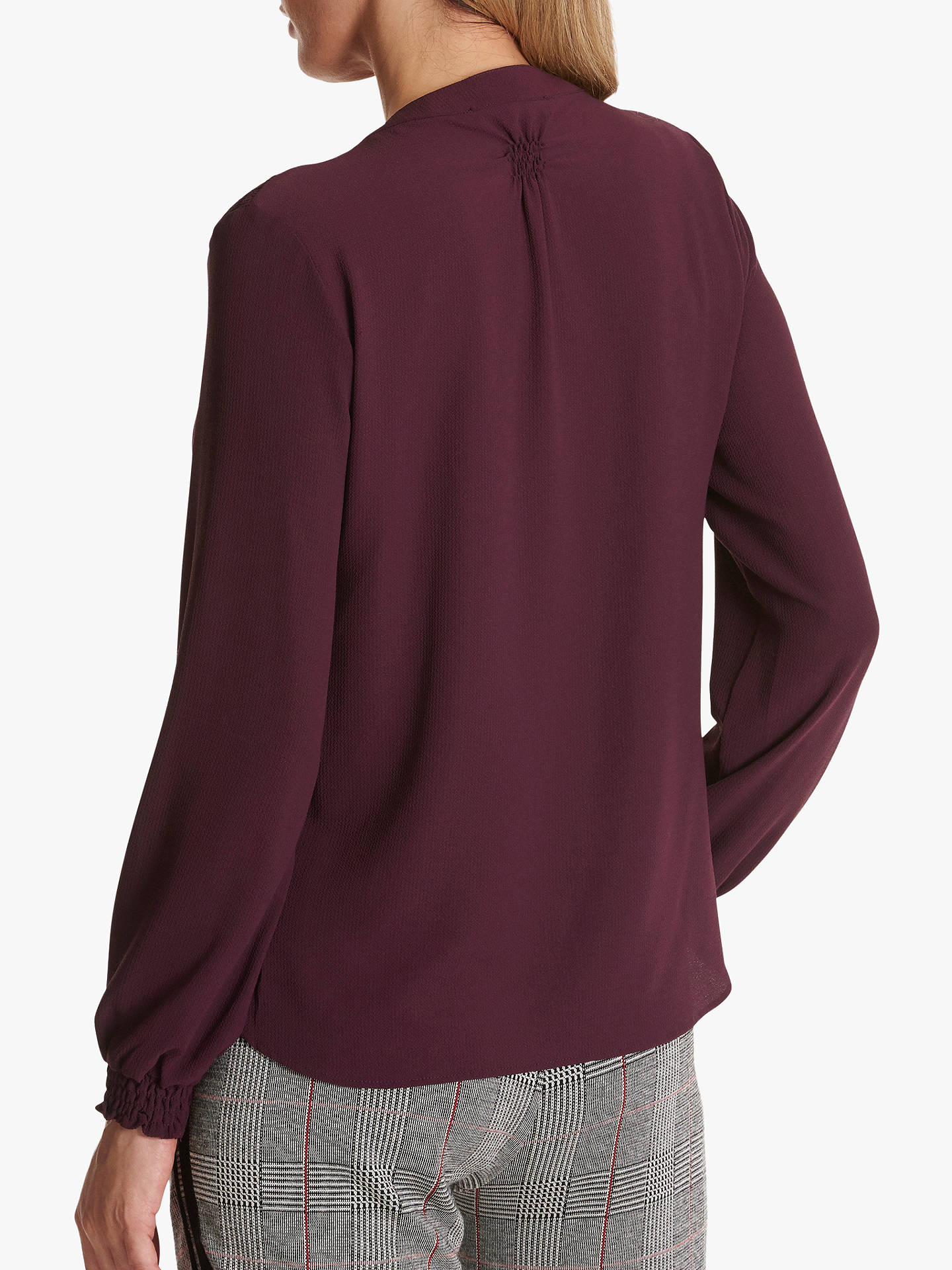 Buy Betty & Co. Crepe Blouse, Wine Tasting, 10 Online at johnlewis.com