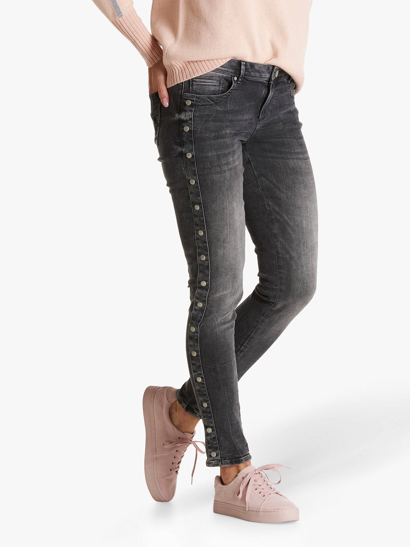 ab052d346695 Buy Betty & Co. Studded Skinny Jeans, Dark Grey Denim, 10 Online at ...