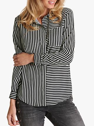 Betty Barclay Striped Blouse, Monochrome