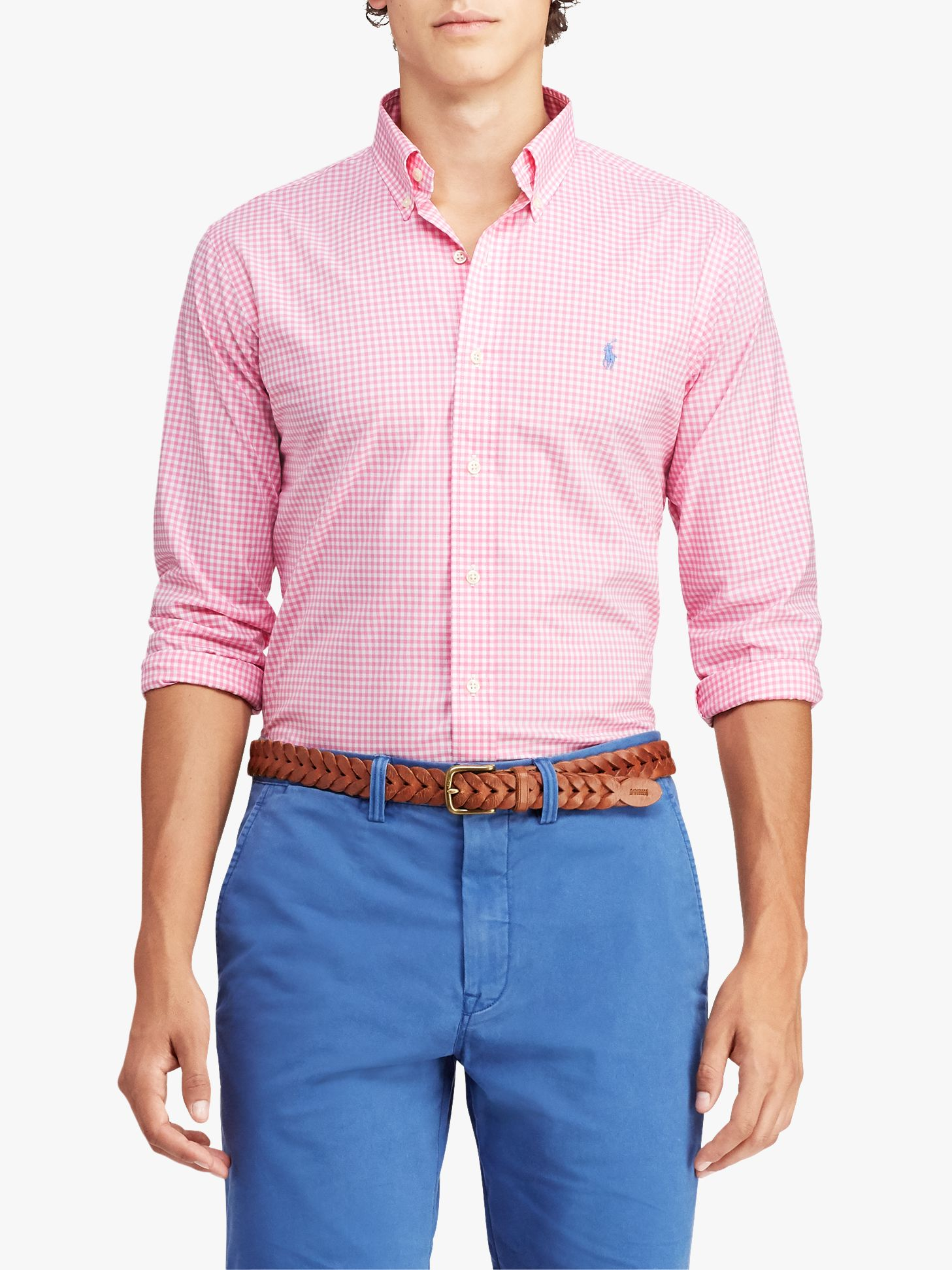 bac6d9c7500b4d Polo Ralph Lauren Classic Fit Gingham Shirt