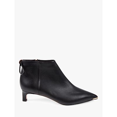 Ted Baker Amaedi Kitten Heel Ankle Boots, Black