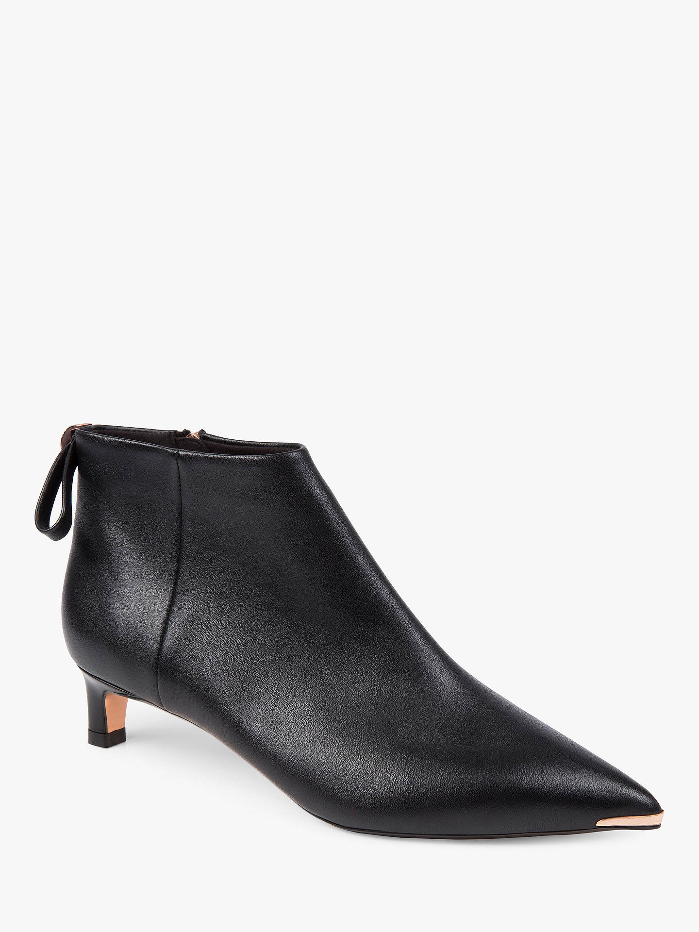 preview of sale super cute Ted Baker Amaedi Kitten Heel Ankle Boots, Black at John ...