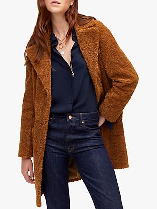 Warehouse Teddy Bear Coat