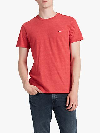 Levi's Original Hm T-Shirt, Red