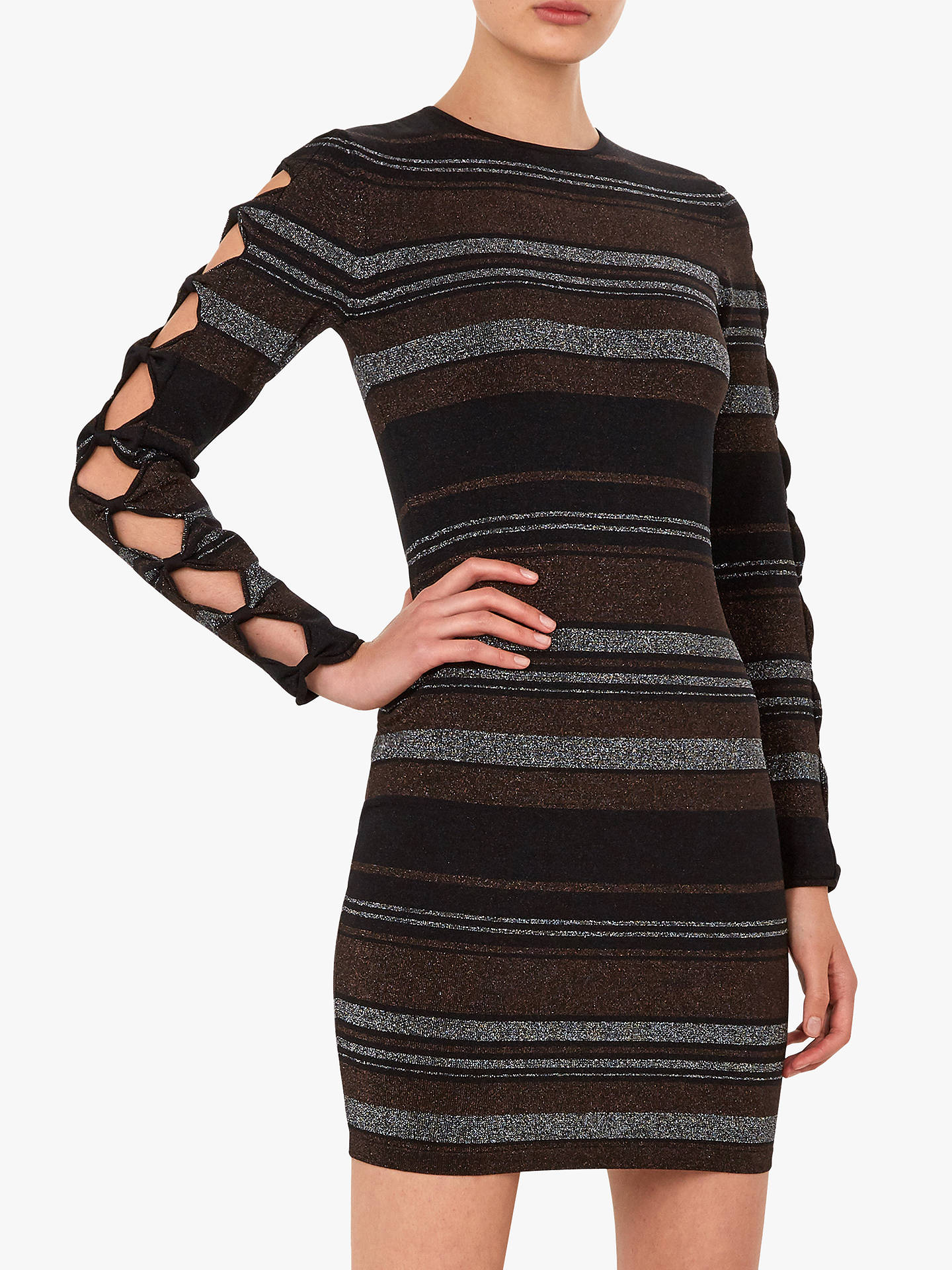 63b499f60 Buy Ted Baker Simona Bow Detail Knitted Bodycon Dress
