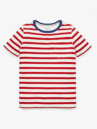 John Lewis & Partners Boys' Stripe T-Shirt
