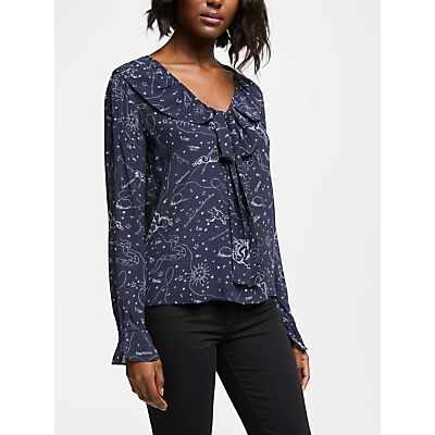 Lily and Lionel Joni Astrology Top, Navy