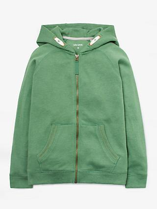 John Lewis & Partners Boys' Zip Through Hoodie